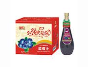 好梦缘来是你蓝莓汁风味饮品1.5L×6瓶