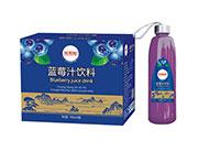 常想知蓝莓汁饮料998ml×8瓶