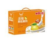 �饪s果粒酸奶�L味�l酵乳180克*12袋