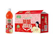 益和源草莓樱桃果汁饮料500ml×15瓶