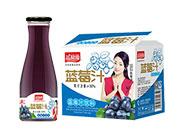 益和源大口蓝莓汁1L×6瓶