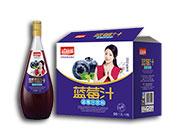 益和源蓝莓汁饮料1.5L×6瓶