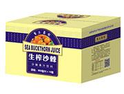 �S土高坡沙棘果汁�料300mlX12瓶
