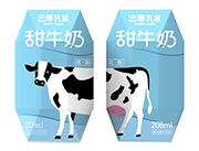 忠厚乳业甜牛奶208g