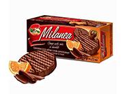 香橙巧克力威化饼120g