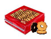 花形巧克力饼干270g