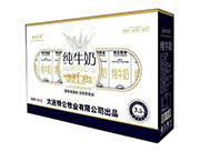 圣特贵族纯牛奶250ml×12开窗礼盒