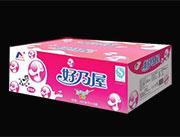 好乃屋乳味饮料草莓味200ml×18袋