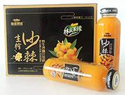 林盛果缘生榨沙棘汁338ml×12瓶