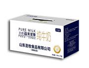 圣慕纯牛奶250ml×12盒