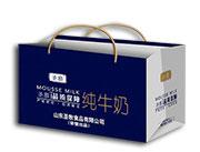 圣慕纯牛奶礼盒装手提袋