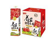 养卫庄园山楂果汁饮料1.5L*6盒