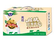 浩能高钙核桃花生牛奶250ml×20盒