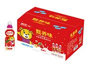 鹤田甄养味草莓味发酵乳酸菌200ml×24瓶