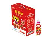 鹤田甄养味草莓味发酵乳酸菌200ml×16瓶