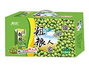鹤田粗粮人家绿豆浓浆谷物饮品礼盒