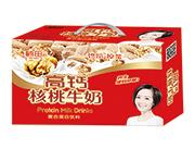 鹤田高钙核桃牛奶复合蛋白饮料礼盒