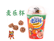 麦乐杯营养燕麦巧克力脆草莓味30g