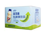 康伴益生菌乳酸菌饮品原味338ml箱装