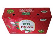 蓝�葱缕飞鲜欣笾�果味碳酸饮料320mlx24罐