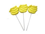 纵享香蕉形棒棒糖单只装