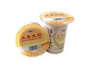 洛之洲有情郎麦香豆奶植物蛋白饮料