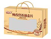 明太郎纯香营养燕麦片600g