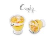 68g酒杯型黄桃味果冻