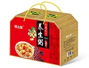 明太郎低糖型桂圆莲子养生粥