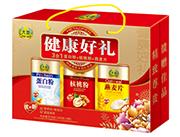 大地健康好礼3合1蛋白粉+核桃粉+燕麦片618g