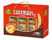 大地原味快熟高纤黑麦片1.05kg