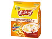 大地家庭号中老年麦香加钙豆奶粉640g