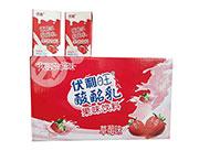 伏利酸酸乳果味饮料草莓味