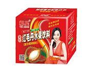 椰星红毛丹水果饮料箱装