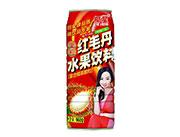 椰星红毛丹水果饮料960g