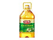 岳秀山茶油5L桶装