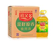 益�v祥【禧又多】菜籽原香食用油-5L箱�b