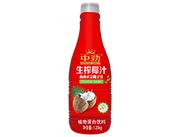 中�派�榨椰汁海南正宗椰子汁1.25kg�t色