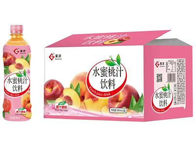 果�馑�蜜桃汁�料500ml×15瓶