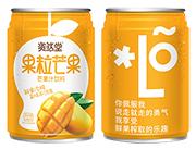 �Y然堂果粒芒果汁�料240ml