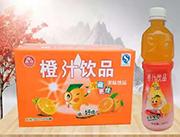 乐品坊橙汁果味饮品500ml×15瓶