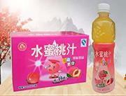 �菲贩凰�蜜桃汁果味�品500ml×15瓶