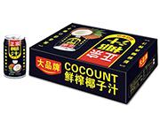 大品牌正宗鲜榨椰子汁
