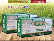 九芗生态礼盒装红米香禾糯米紫米大米
