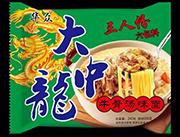 华众大中龙牛骨汤味面240g