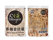 圣菇香辣金针菇休闲食品168g
