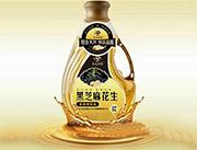 长白油翁黑芝麻花生调和油5LX4瓶