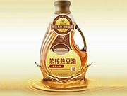 长白油翁笨榨熟豆油5LX4瓶