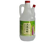 口珍上海白醋酿造食醋调味醋酱油醋800ml