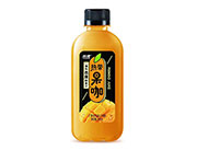 欢虎热带果咖芒果复合果汁饮料380ml